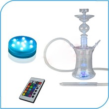 2015 Hot Sale Smoking Accessories Submersible Color Changing Led Hookah Light Base