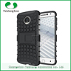 For Moto Z back cover Rugged Impact Hybrid Heavy Duty Case Soft TPU Hard PC Stand Dual Layer Armor Case