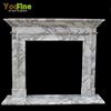 Simple Design Classic Artificial Marble Fireplace Mantel