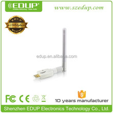 Best Quality EDUP 802.11n 150Mbps network cards USB WiFi/Wireless Network Adapter with Ralink Rt5370 Chipset EP-MS150NW