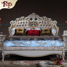 Comfortable fabric bed healthy royal luxury bed with home furniture luxury hand crave king size bed