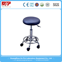 Adjustable Drafting Stool Office / Adjustable Height Lab Stool / Medical Stools With Wheels