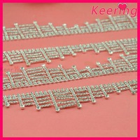 A-class stones high quality rhinestone chain for shoe decorations WRC-326