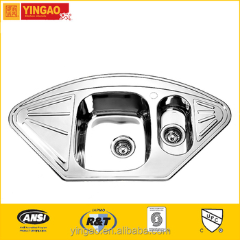 1020B Best quality kitchen sinks stainless steel sink manufacturers