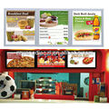 Wall Mount A1 A2 A3 Advertising Backlit Menu Restaurant Photo Frame