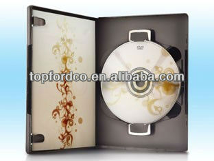 OEM DVD Replication Packed by Single Black DVD Case With Book Clip High Quality