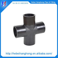 hot selling Plastic injection pvc fittings cross tee