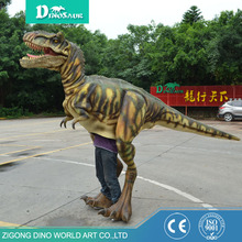 Excellent quality low price Halloween costumes walking inflatable costume dinosaur
