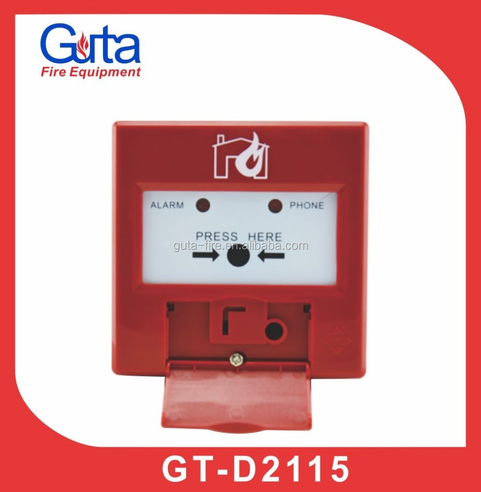 DC24V Addressable Manual Call Point(MCP) Widely Used for Addressable Fire Alarm System