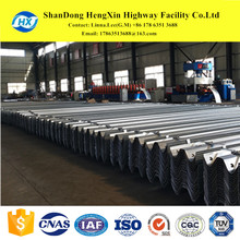 safety metal galvanized aashto m180 guardrail