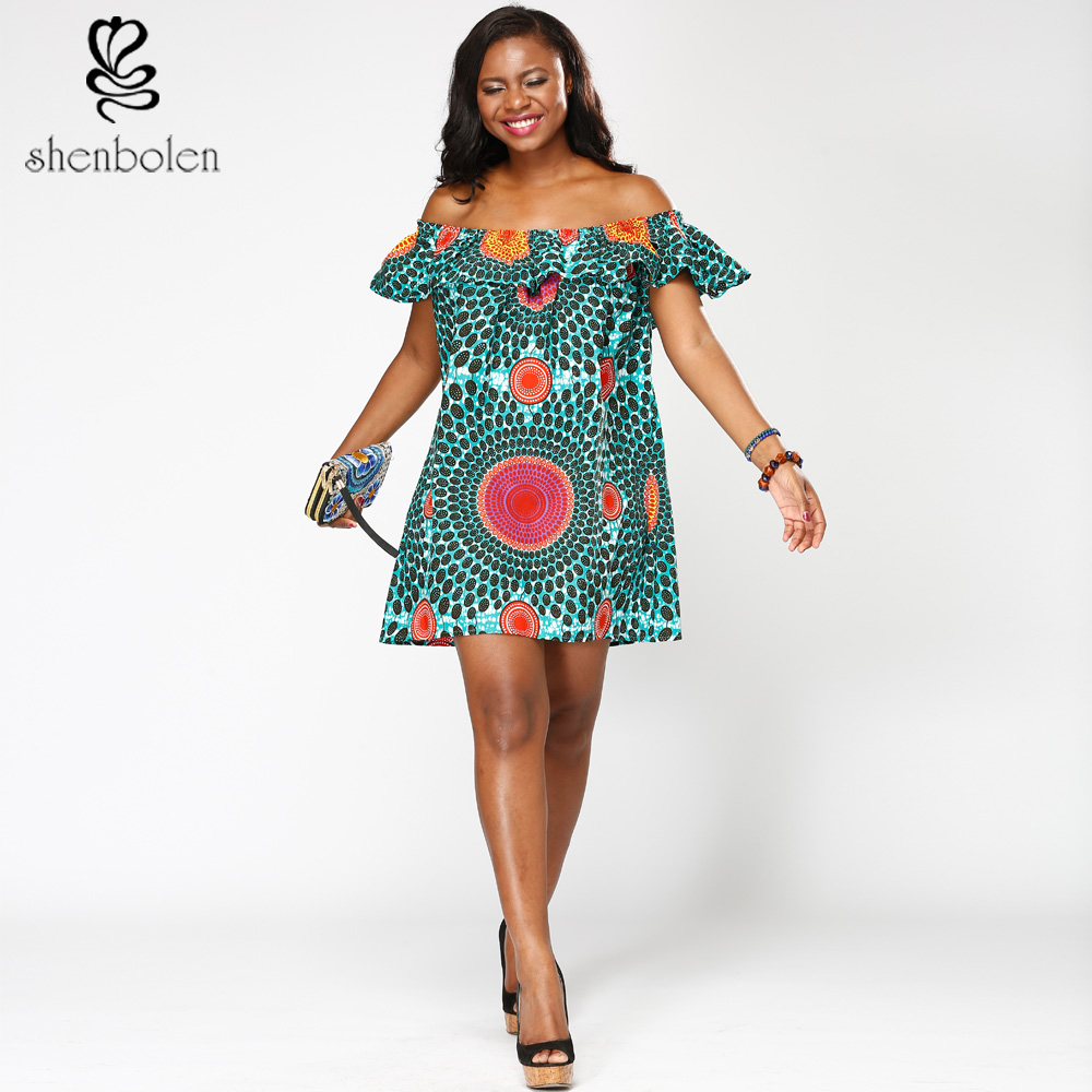 ZH-.<strong>75</strong> summer custom ladies sexy african off shoulder dersses