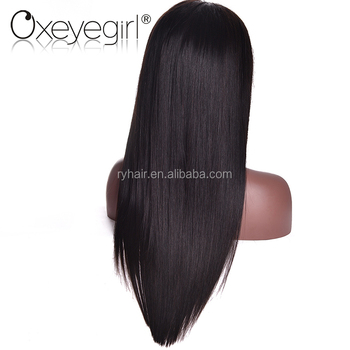 accept paypal Ruiyu human hair full lace wig in dubai