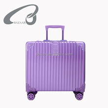 New Products 18inch aluminium suitcases trolley travel luggage bag