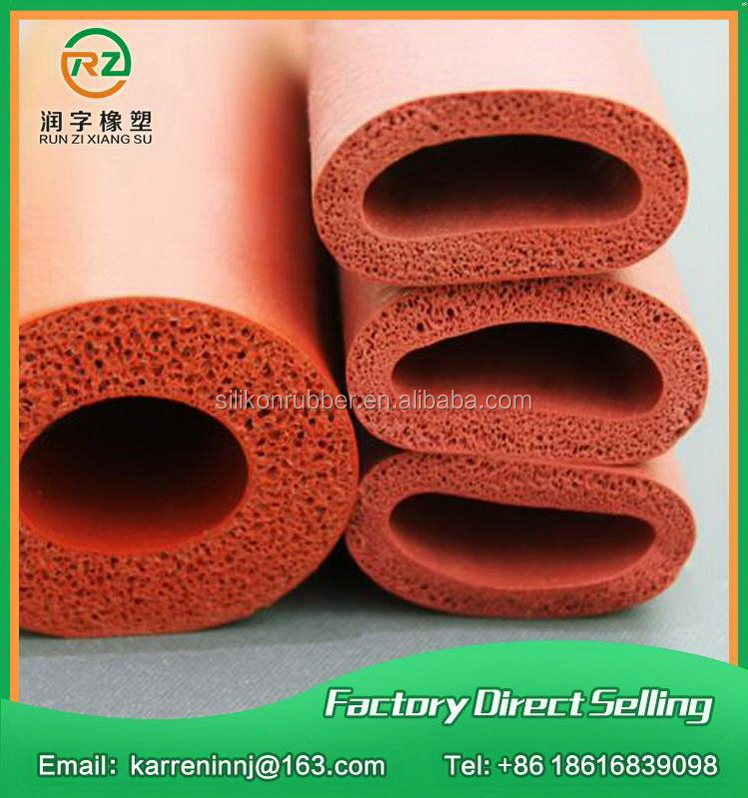 Factory promotion best selling fiberglass coated silicone foam tube