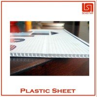 8mm thick waterproof plastic sign board materials