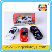 1 32 scale diecast model cars pull back police car diecast model cars for sale