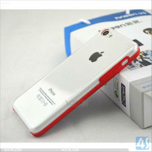 For iPhone 5C Case Clear Hard Plastic Case P-IPH5CHCSO007