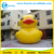 0.6MM PVC Tarpaulin big rubber duck on lake/ sea