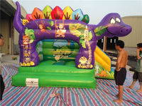 Dino inflatable bouncy castle, Dinosaur inflatable bouncer house