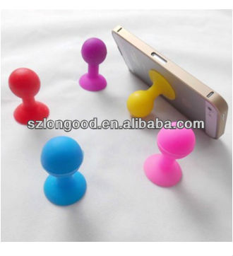 Silicone Suction Ball Stand Holder for iPhone 4G 3G for HTC for iPad for samsung fo MP3 Player sellphone mobile phone Tablet PC
