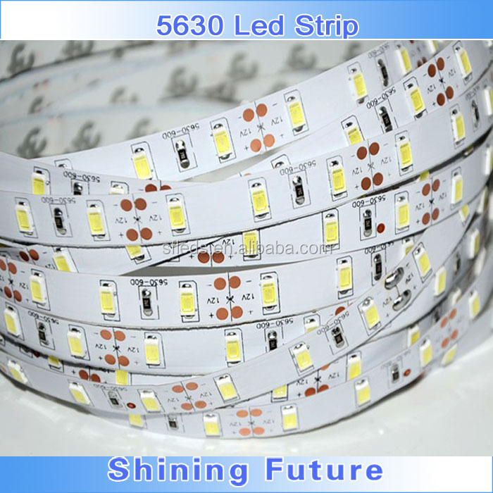 2000lm/m Cool/cold white 6000K/6500K Samsung 5630 LED strip/striscia/band/stripe/streifen