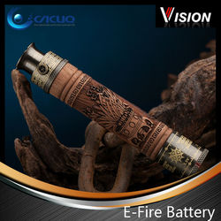 Hot sale e-cig battery vision e fire big vapor e cigarette with adjustable voltage