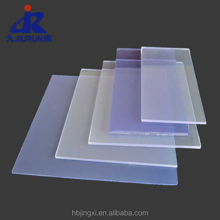 High Impact Strength Anti-UV Hard PVC Transparent Rigid Sheet Board