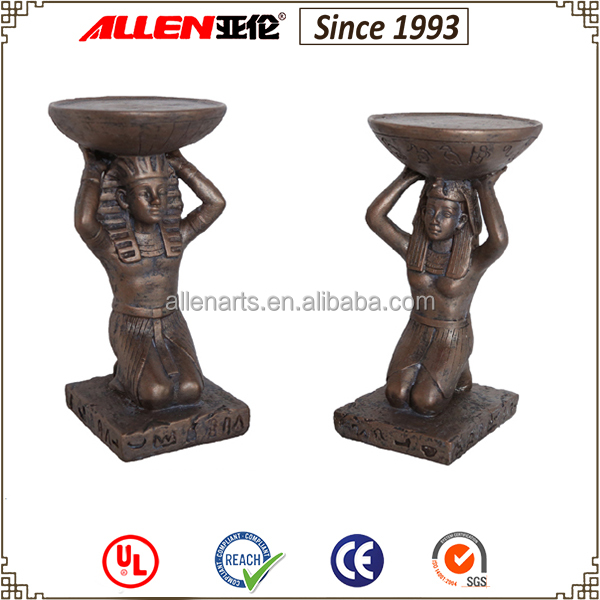 Excellent Quality Pharaoh and Queen Candlestick Islamic decorations for home