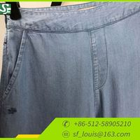New Fashion Design Ladies Denim Trousers