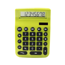 8 Digit Two Way Power Semi 5/4 Cut Novelty Gift Desktop Calculator