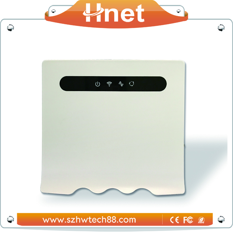 FCC Rosh CE Indoor LTE 4G Wireless CPE Router With Voip Function