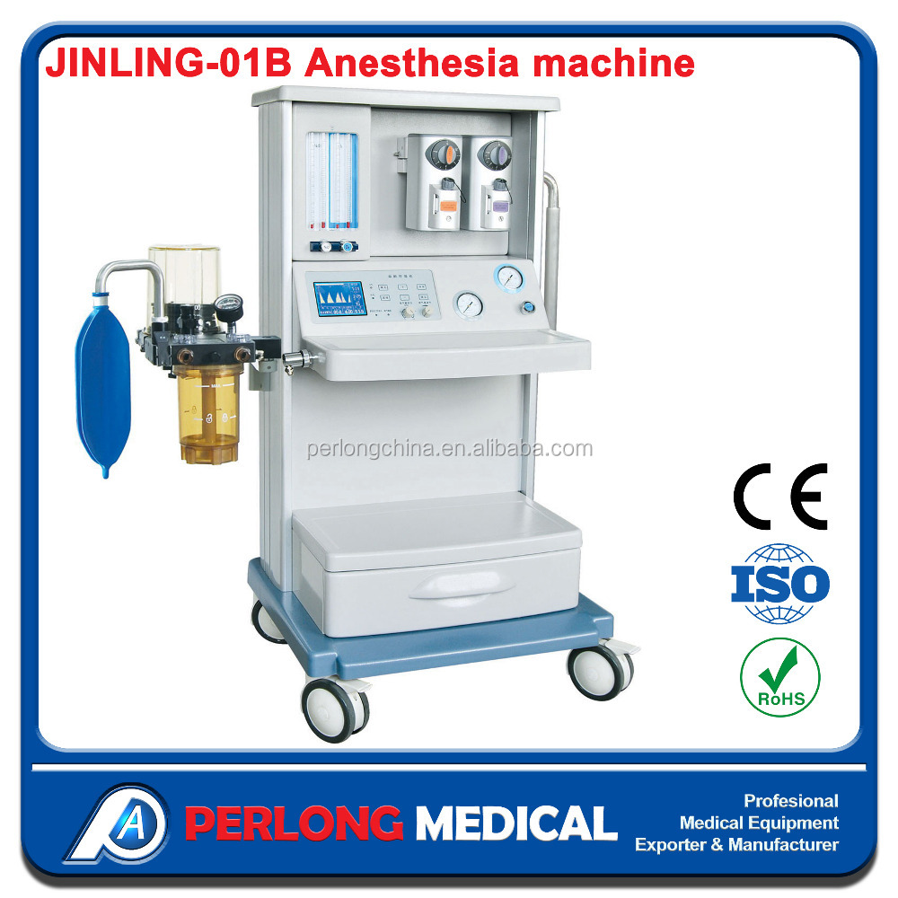JINLING-01B Medical Anesthesia Ventilator price Adult Anaesthesia Machine