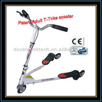 S snake flicker 3 wheels scooter for adults