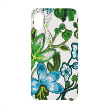 For iPhone 6 Handmade Cover PU Leather 3D Embroidery flower Phone Case