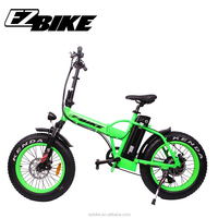 New design 20'' fat folding electric Bike elctric bicycle