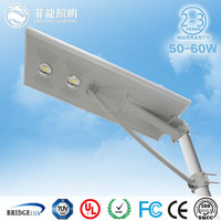 2015 China Factory High Power 8W 20W 40W 60W LED Street Light price list 60w solar street light all in one