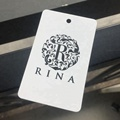 Customize High quality MFL paper hang tags for clothing