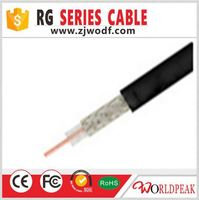 coaxial cable 100% Pure Copper shielded Cable from China factory