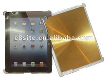 Aluminium CD Back Hard Crystal Case For The New iPad 3