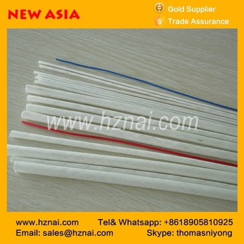 hot sale red silicone resin fiberglass sleeving 10mm for insulating sleeving