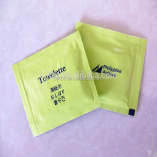 OEM china supplier airline wet wipes/tissue/towel
