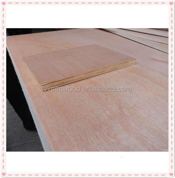 okoume face and back plywood for commercial usage