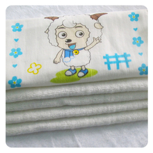 Hot sale Bamboo terry fabric face towel wash cloth