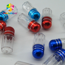small Plastic Pill Container Shell Vials/ viagra Pills Capsule Bullet Casing/ male Enhancement Pills And Viagra Pills bottle