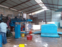 EVA Polyurethane Produces Foaming Batch Machine Match with Square Block Mould