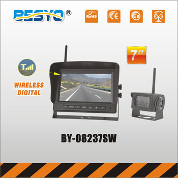 7'' Wireless digital monitor with wireless camera system