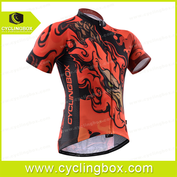 China manufacturer Custom Fashion cycling short jersey accept custom made