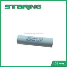 Large number of high quality LG HB6 18650 1500mAh 3.75v 18650 battery