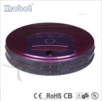 Mini auto robotic vacuum cleaner a320 for floor with UV lamp to kill bacteria