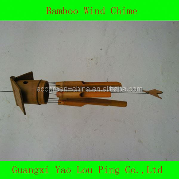 Wind Chimes wood bamboo acrylic metal wood 1312423